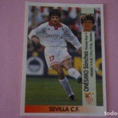 Cromos de Fútbol: CROMO DE FÚTBOL ONESIMO DEL SEVILLA F.C. SIN PEGAR Nº 222 A LIGA PANINI 1996-1997/96-97. Lote 268896104