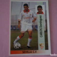 Cromos de Fútbol: CROMO DE FÚTBOL CARLOS DEL SEVILLA F.C. SIN PEGAR Nº 221 LIGA PANINI 1996-1997/96-97. Lote 268898079