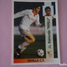 Cromos de Fútbol: CROMO DE FÚTBOL PEPELU DEL SEVILLA F.C. SIN PEGAR Nº 217 LIGA PANINI 1996-1997/96-97. Lote 268898064