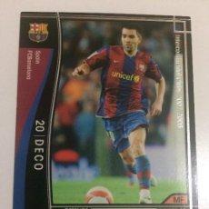 Cromos de Fútbol: CROMO CARD WCCF LIGA 2007-08 PANINI DE JAPÓN FC BARCELONA BARÇA DECO , TENGO MÁS MIRA MIS LOTES. Lote 123460227