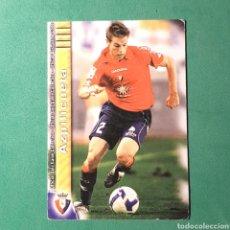 Cartes à collectionner de Football: MUNDICROMO FICHAS LIGA QUIZ 2009 2010 - OSASUNA - N°384 AZPILICUETA. Lote 123546572