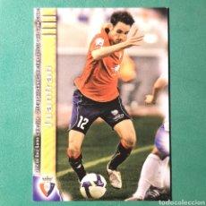 Cartes à collectionner de Football: MUNDICROMO FICHAS LIGA QUIZ 2009 2010 - OSASUNA - N°392 JUANFRAN. Lote 123546703