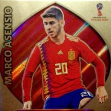 Cromos de Fútbol: MARCO ASENSIO - REAL MADRID ESPAÑA - LIMITED EDITION - ADRENALYN XL 2018 RUSSIA RUSIA FIFA WORLD CUP. Lote 124141527