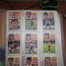 Cromos de Fútbol: LOTE ESTE 1990/91 - 365 CROMOS (INCLUYE COLOCAS Y ÚLTIMOS FICHAJES) NUNCA PEGADOS. Lote 124193007
