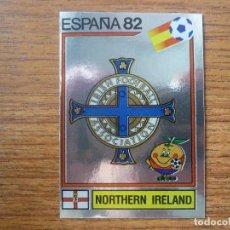 Cromos de Fútbol: CROMO ALBUM ESPAÑA 82 PANINI Nº 328 ESCUDO LOGO (IRLANDA NORTE) SIN PEGAR - MUNDIAL FUTBOL 1982. Lote 124207659