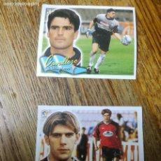 Cromos de Fútbol: JOSEMI COLOCA Y CAVALLERO, EDITORIAL ESTE, TEMPORADA 00/01, 2000/ 2001. Lote 124211751