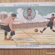 Cromos de Fútbol: UN CAMPEONATO DE FUTBOL Nº 17 ** GERMAN * DEFENSA SPORTING DE GIJON ** AMATLLER. Lote 124265027