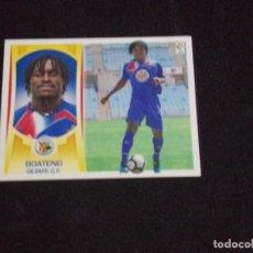 Cromos de Fútbol: ULTIMO FICHAJE 30 BOATENG, GETAFE, LIGA ESTE 09-10 (2009-2010). Lote 124326179