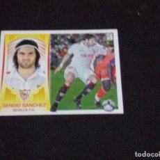 Cromos de Fútbol: ULTIMO FICHAJE 29 SERGIO SANCHEZ, SEVILLA, LIGA ESTE 09-10 (2009-2010). Lote 124326239
