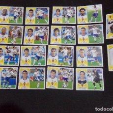 Cromos de Fútbol: LOTE DE 18 CROMOS DEL REAL ZARAGOZA, LIGA ESTE 09-10 (2009-2010). Lote 124327983