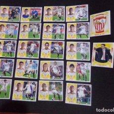 Cromos de Fútbol: LOTE DE 22 CROMOS DEL SEVILLA, LIGA ESTE 09-10 (2009-2010). Lote 124328211