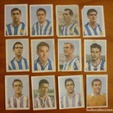Cromos de Fútbol: LOTE DE 12 CROMOS SIN REPETIR AÑOS 50 DE LA PROVINCIAL - PROVI Y PINKY . Lote 124462735