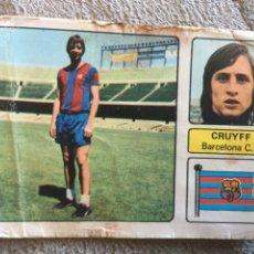 Cromos de Fútbol: CROMO CRUIFF BARCELONA C.F. 73-74. Lote 124650012