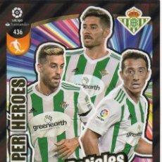Cromos de Fútbol: ADRENALYN XL 2017 2018 - 436 - BETIALES - SUPER HEROES - REAL BETIS. - 17 18. Lote 124663027
