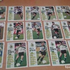 Cromos de Fútbol: PANINI 1998-1999. 15 CROMOS RACING SANTANDER. NUEVOS SIN PEGAR. Lote 124946295