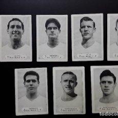 Cromos de Fútbol: FOTOS FUTBOL CAMPEONATO 1958-1959 GRAFICAS NILO 45 CROMOS. Lote 125063667