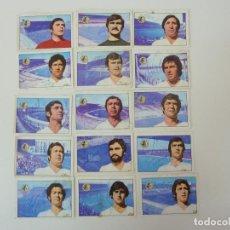 Cromos de Fútbol: 15 CROMOS. U.D. SALAMANCA. LIGA 1974/75. FHER. VARIOS CROMOS FIRMADOS.. Lote 125083731