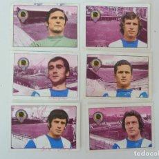 Cromos de Fútbol: 6 CROMOS. HÉRCULES C.F. LIGA 1974/75. FHER. 3 CROMOS FIRMADOS. Lote 125085079