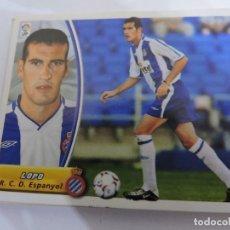 Cromos de Fútbol: LOPO - ESPANYOL - LIGA 2003 - 2004 03 04 - COLECCIONES ESTE PANINI - SIN PEGAR. Lote 125201543