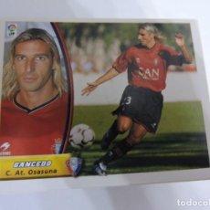Cromos de Fútbol: GANCEDO - OSASUNA - LIGA 2003 - 2004 03 04 - COLECCIONES ESTE PANINI - SIN PEGAR. Lote 125228611