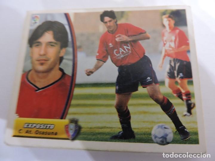 EXPOSITO - OSASUNA - LIGA 2003 - 2004 03 04 - COLECCIONES ESTE PANINI - SIN PEGAR (Coleccionismo Deportivo - Álbumes y Cromos de Deportes - Cromos de Fútbol)