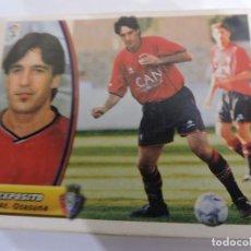 Cromos de Fútbol: EXPOSITO - OSASUNA - LIGA 2003 - 2004 03 04 - COLECCIONES ESTE PANINI - SIN PEGAR. Lote 125228751