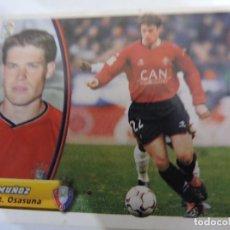 Cromos de Fútbol: MUÑOZ - OSASUNA - LIGA 2003 - 2004 03 04 - COLECCIONES ESTE PANINI - SIN PEGAR. Lote 125228923