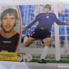 Cromos de Fútbol: CABALLERO - SEVILLA - LIGA 2003 - 2004 03 04 - COLECCIONES ESTE PANINI - SIN PEGAR. Lote 125231635
