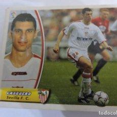 Cromos de Fútbol: CASQUERO - SEVILLA - LIGA 2003 - 2004 03 04 - COLECCIONES ESTE PANINI - SIN PEGAR. Lote 125231763