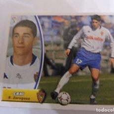 Cromos de Fútbol: CANI - ZARAGOZA - LIGA 2003 - 2004 03 04 - COLECCIONES ESTE PANINI - SIN PEGAR. Lote 125236027