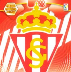 Cromos de Fútbol: 289 - ESCUDO REAL SPORTING DE GIJON - MEGACRACKS 2011 / 2012 11 12 - PANINI - NUEVO. Lote 154547953