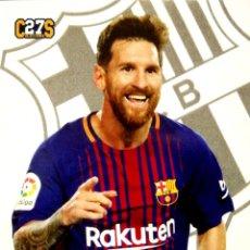 Cromos de Fútbol: 18 LIONEL MESSI - F.C. BARCELONA - FICHA DE VENEZUELA - UEFA CHAMPIONS LEAGUE 2017 2018 17 18. Lote 125333819