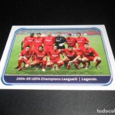 Cromos de Fútbol: 559 2004 2005 LEGENDS LIVERPOOL CROMOS LIGA CAMPEONES UEFA CHAMPIONS LEAGUE 2010 2011 10 11. Lote 125888003