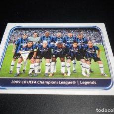 Cromos de Fútbol: 549 LEGENDS INTERNAZIONALE MILANO CROMOS LIGA CAMPEONES UEFA CHAMPIONS LEAGUE 2010 2011 10 11. Lote 125919643