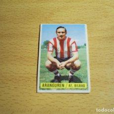 Cromos de Fútbol: ARANGUREN ATHLETIC CLUB DE BILBAO EDICIONES ESTE 1974 1975 LIGA 74 75 CROMO SIN PEGAR NUNCA PEGADO. Lote 126067031