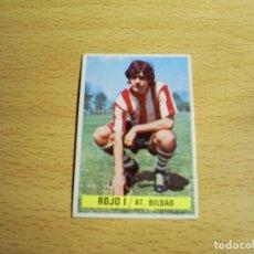 Cromos de Fútbol: TXETXU ROJO I ATHLETIC CLUB DE BILBAO EDICIONES ESTE 1974 1975 74 75 CROMO SIN PEGAR NUNCA PEGADO. Lote 126067067