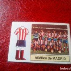 Cromos de Fútbol: ALINEACION AT MADRID ED ESTE 82 83 CROMO FUTBOL LIGA 1982 1983 - SIN PEGAR - 292. Lote 126099851