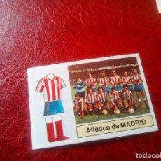 Cromos de Fútbol: ALINEACION AT MADRID ED ESTE 82 83 CROMO FUTBOL LIGA 1982 1983 - SIN PEGAR - 293. Lote 126099975