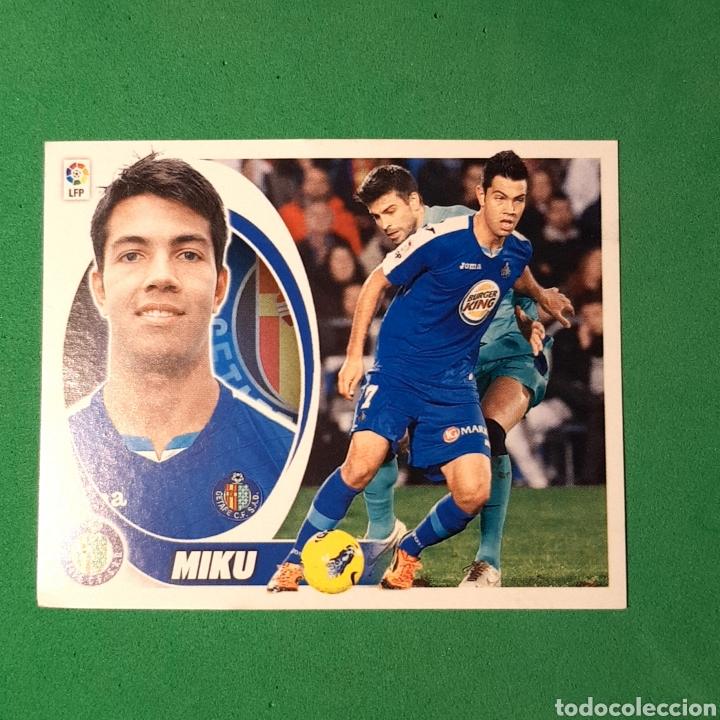 LIGA ESTE 2012 2013 / 12 13 - (GETAFE) - N°16 MIKU (Coleccionismo Deportivo - Álbumes y Cromos de Deportes - Cromos de Fútbol)