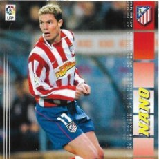 Cromos de Fútbol: == C45 - CROMO LIGA FÚTBOL MEGA CRACK 2004/2005 - ATHLETICO DE MADRID - NANO - Nº 50. Lote 126205843