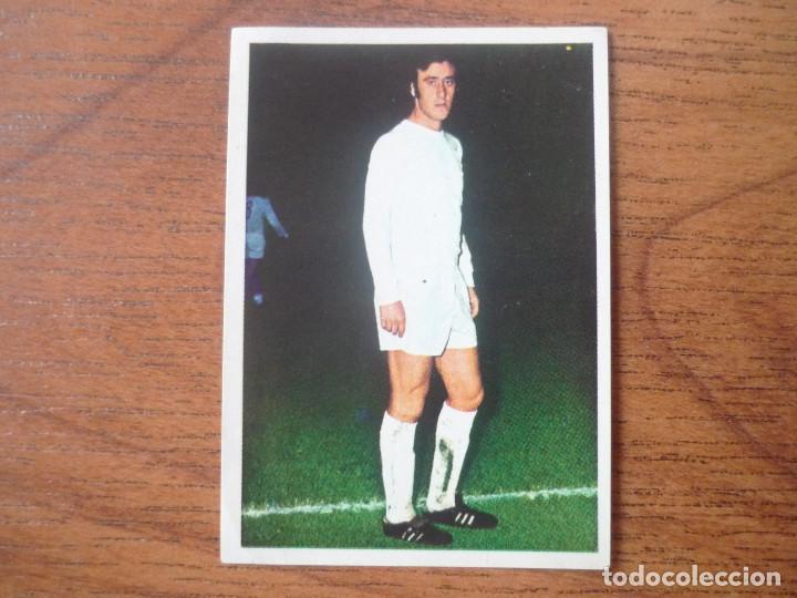 FHER DISGRA LIGA 1975 1976 VICENTE DEL BOSQUE (REAL MADRID) NUNCA PEGADO - CROMO 75 76 (Coleccionismo Deportivo - Álbumes y Cromos de Deportes - Cromos de Fútbol)