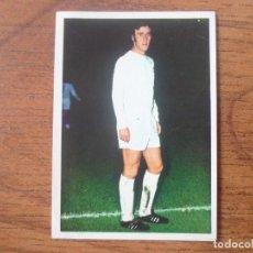 Cromos de Fútbol: FHER DISGRA LIGA 1975 1976 VICENTE DEL BOSQUE (REAL MADRID) NUNCA PEGADO - CROMO 75 76. Lote 126390255