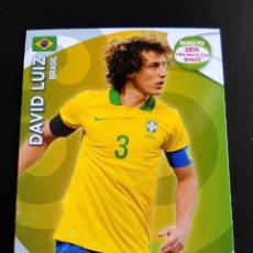 Cromos de Fútbol: DAVID LUIZ - BRASIL ADRENALYN XL ROAD TO BRASIL 2014 WORLD CUP, CROMOS FUTBOL. Lote 126481479