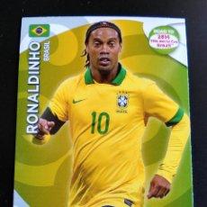 Cromos de Fútbol: RONALDINHO - BRASIL ADRENALYN XL ROAD TO BRASIL 2014 WORLD CUP, CROMOS FUTBOL. Lote 145007802