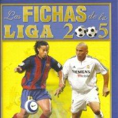 Cromos de Fútbol: FICHAS LIGA MUNDICROMO 2005. FICHA BRILLANTE. TRIÁNGULOS. 80. ANDRADE.. Lote 126482391