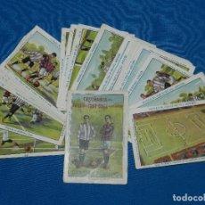 Cromos de Fútbol: COLECCION COMPLETA - ENSEÑANZA DEL JUEGO DE FOOT-BALL ASOCIACION , COLECCION DE 25 CROMOS , AÑOS 20. Lote 126567351
