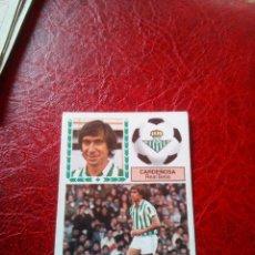 Cromos de Fútbol: CARDEÑOSA REAL BETIS ED ESTE 83 84 CROMO FUTBOL LIGA 1983 1984 - SIN PEGAR - 78. Lote 126725643