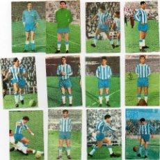 Cromos de Fútbol: ESPAÑOL 1965-66, COMPLETO, DE FHER DISGRA, SACADOS DE ALBUM, HAY 2 QUE LE FALTA UN TROCITO DE PAPEL. Lote 126852887