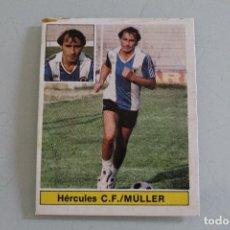 Cromos de Fútbol: ESTE 81 82 MULLER FICHAJE Nº 28 BIS RECUPERADO ÁLBUM. Lote 126880255