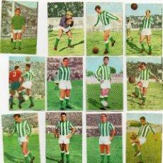 Cromos de Fútbol: 15 CROMOS DEL CORDOBA 1965-66,DE FHER DISGRA SACADOS DE ALBUM. Lote 126895795